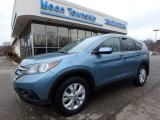 2014 Mountain Air Metallic Honda CR-V EX-L AWD #119090633