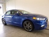 2017 Lightning Blue Ford Fusion Sport AWD #119090579