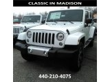 2017 Bright White Jeep Wrangler Unlimited Sahara 4x4 #119090692