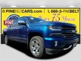 2017 Deep Ocean Blue Metallic Chevrolet Silverado 1500 LTZ Crew Cab 4x4 #119090506