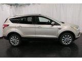 2017 White Gold Ford Escape Titanium 4WD #119090412