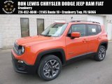 2017 Omaha Orange Jeep Renegade Latitude 4x4 #119111607