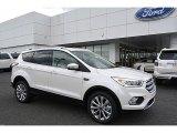 2017 White Platinum Ford Escape Titanium 4WD #119111691