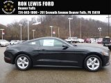 2017 Shadow Black Ford Mustang V6 Coupe #119111596