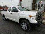 2017 Super White Toyota Tundra SR Double Cab 4x4 #119111624