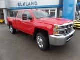 2017 Red Hot Chevrolet Silverado 2500HD Work Truck Double Cab 4x4 #119111588