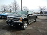 2017 Black Chevrolet Silverado 2500HD High Country Crew Cab 4x4 #119135498