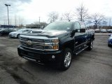 2017 Black Chevrolet Silverado 2500HD High Country Crew Cab 4x4 #119135494