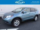 2014 Mountain Air Metallic Honda CR-V EX AWD #119134848