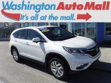 2015 White Diamond Pearl Honda CR-V EX AWD #119135067