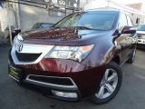 2011 Dark Cherry Pearl Acura MDX Technology #119135354