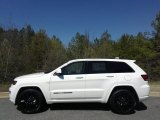 2017 Bright White Jeep Grand Cherokee Laredo 4x4 #119134823