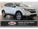 2017 White Diamond Pearl Honda CR-V EX-L #119134948