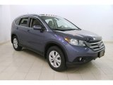 2013 Twilight Blue Metallic Honda CR-V EX-L AWD #119135451