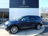 2016 Blue Jeans Metallic Ford Explorer Limited 4WD #119135139
