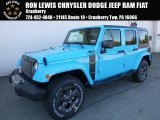 2017 Chief Blue Jeep Wrangler Unlimited Sport 4x4 #119135022
