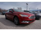 2017 Ruby Red Ford Fusion S #119135523