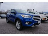 2017 Lightning Blue Ford Escape SE 4WD #119135521