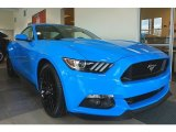 2017 Grabber Blue Ford Mustang GT Premium Coupe #119135518