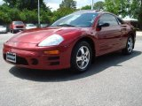 2003 Ultra Red Pearl Mitsubishi Eclipse GS Coupe #11899034