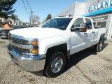 2017 Summit White Chevrolet Silverado 2500HD Work Truck Double Cab 4x4 #119134981