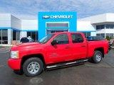 2010 Victory Red Chevrolet Silverado 1500 LS Crew Cab #119135191