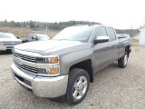 2017 Pepperdust Metallic Chevrolet Silverado 2500HD Work Truck Double Cab 4x4 #119134979