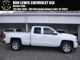 2017 Summit White Chevrolet Silverado 1500 LT Double Cab 4x4 #119199313