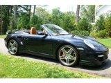 2008 Midnight Blue Metallic Porsche 911 Turbo Cabriolet #1189000