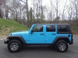2017 Chief Blue Jeep Wrangler Unlimited Rubicon 4x4 #119199254