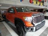 2017 Inferno Orange Toyota Tundra SR5 CrewMax 4x4 #119199541