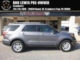 2014 Sterling Gray Ford Explorer XLT 4WD #119227442