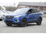 2017 Lightning Blue Ford Escape SE 4WD #119227470