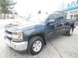 2017 Graphite Metallic Chevrolet Silverado 1500 LT Double Cab 4x4 #119227428