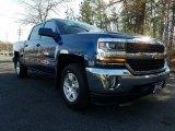 2017 Deep Ocean Blue Metallic Chevrolet Silverado 1500 LT Crew Cab 4x4 #119227374