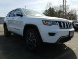 2017 Bright White Jeep Grand Cherokee Limited 4x4 #119227409