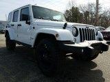 2017 Bright White Jeep Wrangler Unlimited Winter Edition 4x4 #119227408