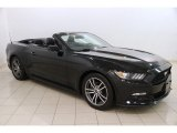2017 Shadow Black Ford Mustang EcoBoost Premium Convertible #119242247