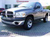 2008 Mineral Gray Metallic Dodge Ram 1500 SXT Regular Cab #11892326