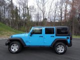 2017 Chief Blue Jeep Wrangler Unlimited Sport 4x4 #119241986