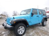 2017 Chief Blue Jeep Wrangler Unlimited Sport 4x4 #119242183