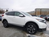 2017 White Diamond Pearl Honda CR-V Touring AWD #119242056