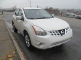 2013 Pearl White Nissan Rogue S AWD #119281483