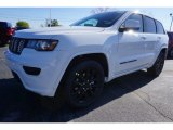 2017 Bright White Jeep Grand Cherokee Laredo #119281093