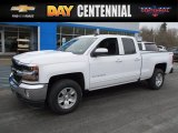 2017 Summit White Chevrolet Silverado 1500 LT Double Cab 4x4 #119281008