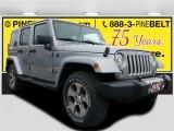 2017 Billet Silver Metallic Jeep Wrangler Unlimited Sahara 4x4 #119280917
