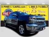 2017 Deep Ocean Blue Metallic Chevrolet Silverado 1500 LTZ Crew Cab 4x4 #119280903
