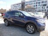 2017 Obsidian Blue Pearl Honda CR-V EX-L AWD #119280989