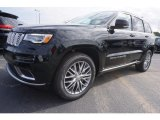 2017 Diamond Black Crystal Pearl Jeep Grand Cherokee Summit 4x4 #119338856