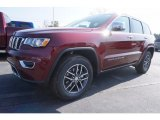 2017 Velvet Red Pearl Jeep Grand Cherokee Limited #119338854